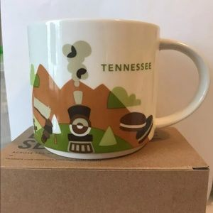 Retired Starbucks Tennessee Your Are Here Mug